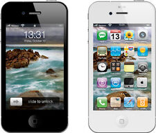 Apple iPhone 4 - 8GB (Straight Talk, Verizon, Tracfone) Clean ESN, Black & White