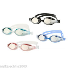 Adult Non-Fogging Swimming Goggles Swim Glasses Adjustable UV Protection Earplug