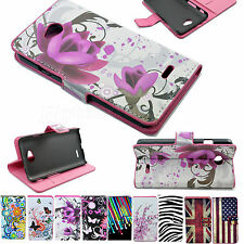 Flip Leather Wallet Holster Cell Phone Case Cover For  LG Optimus Mobile Phones