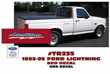 TR235-BLWH 1993-95 FORD F-150 LIGHTNING TRUCK - SIDE BED DECAL - ONE DECAL