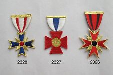 #2326~28 Military Medal Embroidery Iron On Applique Patch