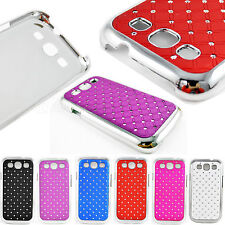 Shiny Bling Crystal Hard Phone Back Case Cover For Samsung Galaxy S3 III i9300