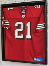 LOCKABLE Sports Jersey Shadow Box Display Case Frame, PRO UV PROTECTION, JC01