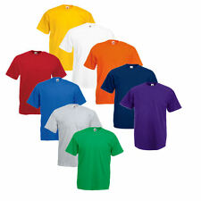 5er Sets Fruit of the Loom T-Shirt  Shirts Shirt S M L XL XXL