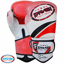 Farabi Pro Fighter Boxing Gloves Sparring Gym Bag Punching Focus Pad Mitts