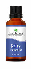 Relax Synergy Essential Oil Blend. 100% Pure, Undiluted, Therapeutic Grade