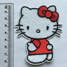 Wholesale-10/50/100pc Embroidered Iron/Sew on Patches Hello Kitty Applique 01#