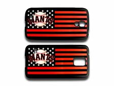 SAN FRANCISCO SF GIANTS PENNANT FLAG FOR SAMSUNG GALAXY S4 S5 RUBBER CASE COVER