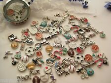 Floating Charms for Glass Memory Lockets -  SPORTS & OUTDOORS