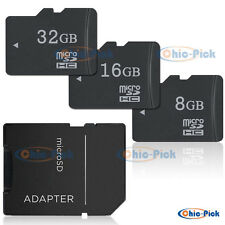 8G 16G 32GB Micro SD SDHC High Capacity SD/TF Flash Memory Card For Camera Phone