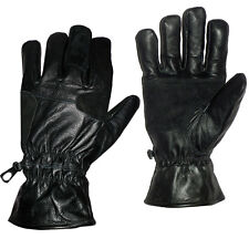 Cold Weather Men Leather Gloves Driving Gloves Dress Fashion Gloves Black 88
