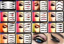 BELLISIMI TATTOO EYE LINER PER OCCHI TEMPORANEI TRASFERIBILI STICKERS EYES CAT
