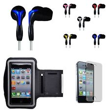 iPod Touch 5 Sports Armband + Headset + Screen Guard for Gym Jogging Workout