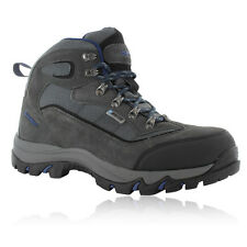 Hi-Tec Mens Keswick Grey Waterproof Outdoors Trail Walking Hiking Boots Shoes