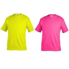 TODDLER PLAIN BASIC SAFETY TEE SHIRTS FOR BOYS AND GIRLS SIZE - 2T, 3T, 4T, 5T