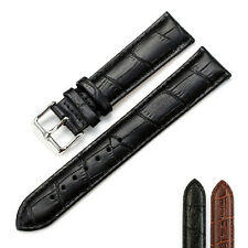 Universal Alligator Crocodile Grain Leather Strap Wristwatch Watch Band Ornate