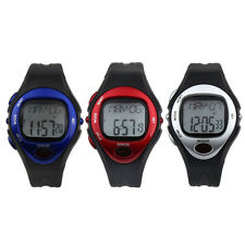 New Digital LCD Pulse Heart Rate Monitor Calories Counter Fitness Watch Oenate