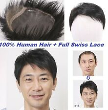 Black Men S Natural Hair Replacement Unit