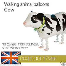 COW WALKING PET BALLOON ANIMAL AIRWALKER BIRTHDAY KIDS FARM FUN