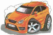 Ford Focus RS Printed Koolart Cartoon T Shirt 1968 More Colors Available