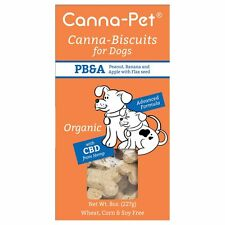Canna-Pet Dog Supplements Organic Hemp Based Biscuits All Natural Made in USA