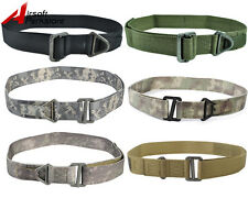 Tactical Military CQB Rigger Rescue Emergency Survival Combat Nylon Duty Belt