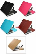 """Magnet Leather Folio Sleeve Case Shell Bag For Macbook Air Pro Retina 11 13"""" 15"""""""