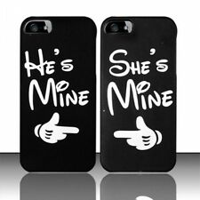 CUTE Couple Phone Case, Hes Mine Shes Mine Matching iPhone & Galaxy - FREE GIFT!