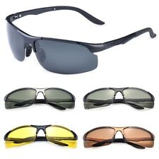2015 Mens Outdoor Polarized Sunglasses Driving Aviator sports Eyewear Glasses