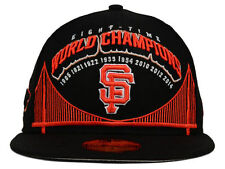 Official MLB 8X World Series Champions San Francisco Giants New Era Fitted Hat