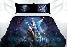 Anne Stokes Stargazer Fairy Fantasy Quilt Cover Set - SINGLE DOUBLE QUEEN KING