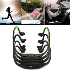 Stereo Sport Wireless Headset Headphone Earphone Music Player Micro SD Cycling