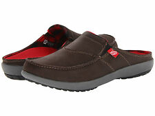 Spenco Arch Support Clog Polysorb Siesta Men's Shoes Slide Brown Medium (D, M)