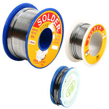 3 Sizes Tin Lead Rosin Core Solder Flux Soldering Welding Iron Wire Reel x 1