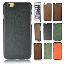 "Cases For Apple iPhone 6 4.7"" PU Leather Hard back cover iPhone Accessories New"