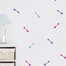 32pc Bright Star Kids Wall Stickers / Decals - Shooting Arrow - Pick a Colour