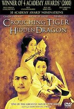 Crouching Tiger, Hidden Dragon (DVD, 2001,
