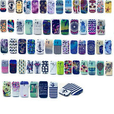 New Paint TPU Soft Rubber Phone Back Case Cover For Samsung Galaxy S3 Mini/I9300