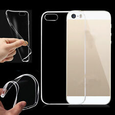 Soft Silicone TPU UltraThin Clear Transparent Cover Case For Samsung iPhone Case