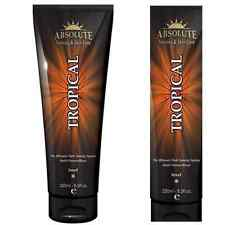Absolute TROPICAL Sunbed Tanning Lotion Cream Tan Accelerator Simple Intensifier
