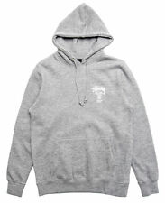 Stussy World Tour Pullover Hoodie (Grey/White) Brand New Authentic WT Logo