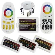 2.4G Wireless Mi-Light RF Remote 4-zone WiFi RGBW W/WW RGB LED Strip Controller