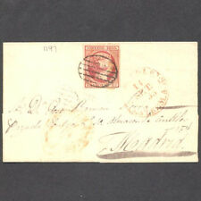 SPAIN 1853 ENTIRE LETTER TO MADRID