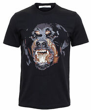 Authentic NEW Season AW/15 Mens Givenchy Columbian Fit Rottweiler T Shirt XS/S/M