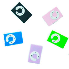Mini 5 Colors Support Up To 8GB Clip USB MP3 Player Micro SD TF Memory Card d5