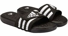 Adidas Men's Adissage Supercloud Slide Sandal Black & White FRE SHIP Sandals Men