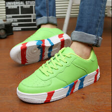 Mens Boys Athlettic Running Shoes Platform Low Top  Casual Shoes Tennis Sneaker
