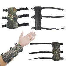 TARGET ARCHERY HUNTING SHOOTING LEATHER FABRIC ARM GUARD SAFE STRAP PROTECT GEAR