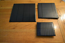 5V Solar Panels with USB ports -Ideal for charging emergency power packs / Phone