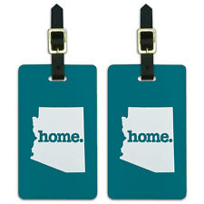 Arizona AZ Home State Luggage Suitcase ID Tags Set of 2